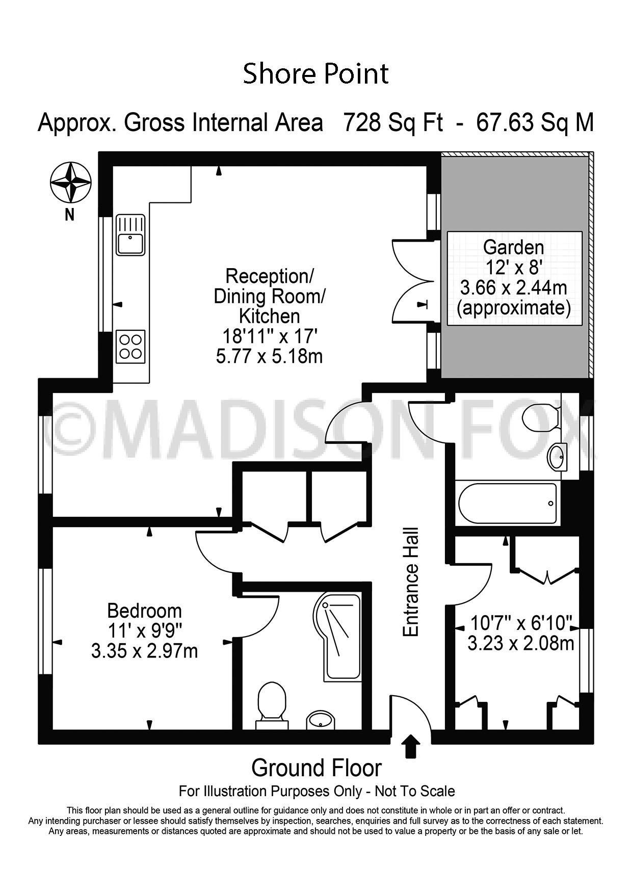 2 Bedrooms Flat for sale in High Road, Buckhurst Hill IG9