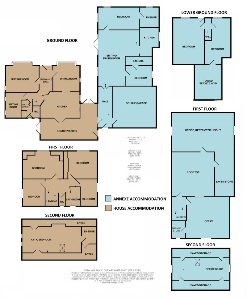 5 Bedrooms Detached house for sale in 26 Steep Turnpike, Matlock DE4
