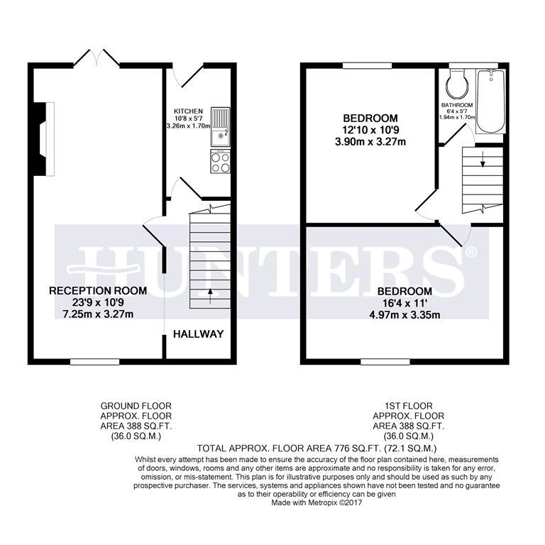 layout of house 2 bedroom terraced house for 45077322 primelocation 13965