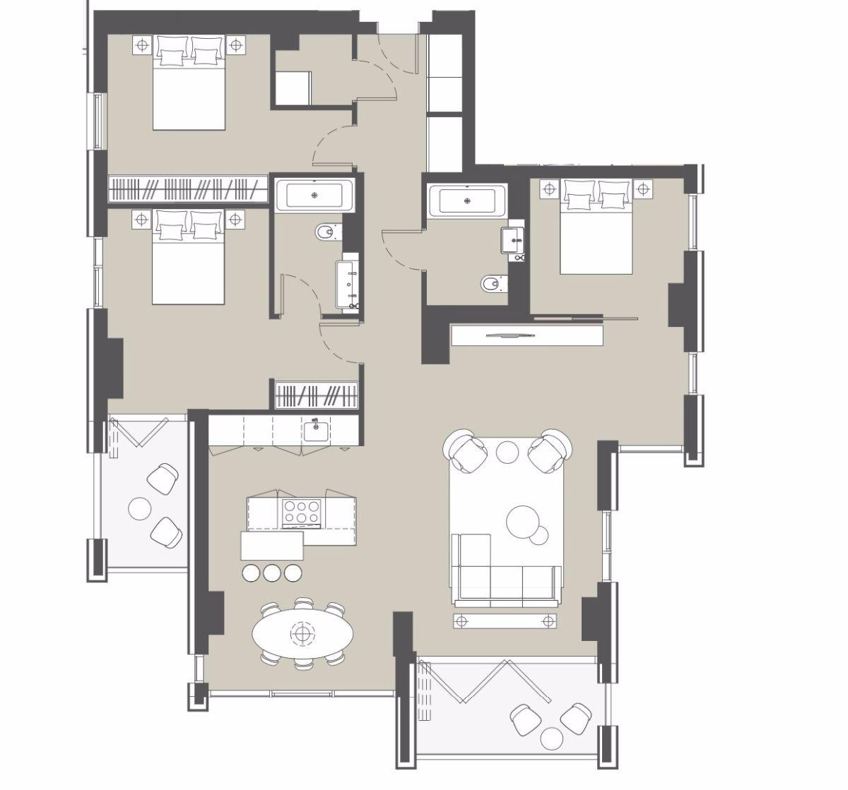 3 bedroom flat for sale in 145 City Road, EC1V, London