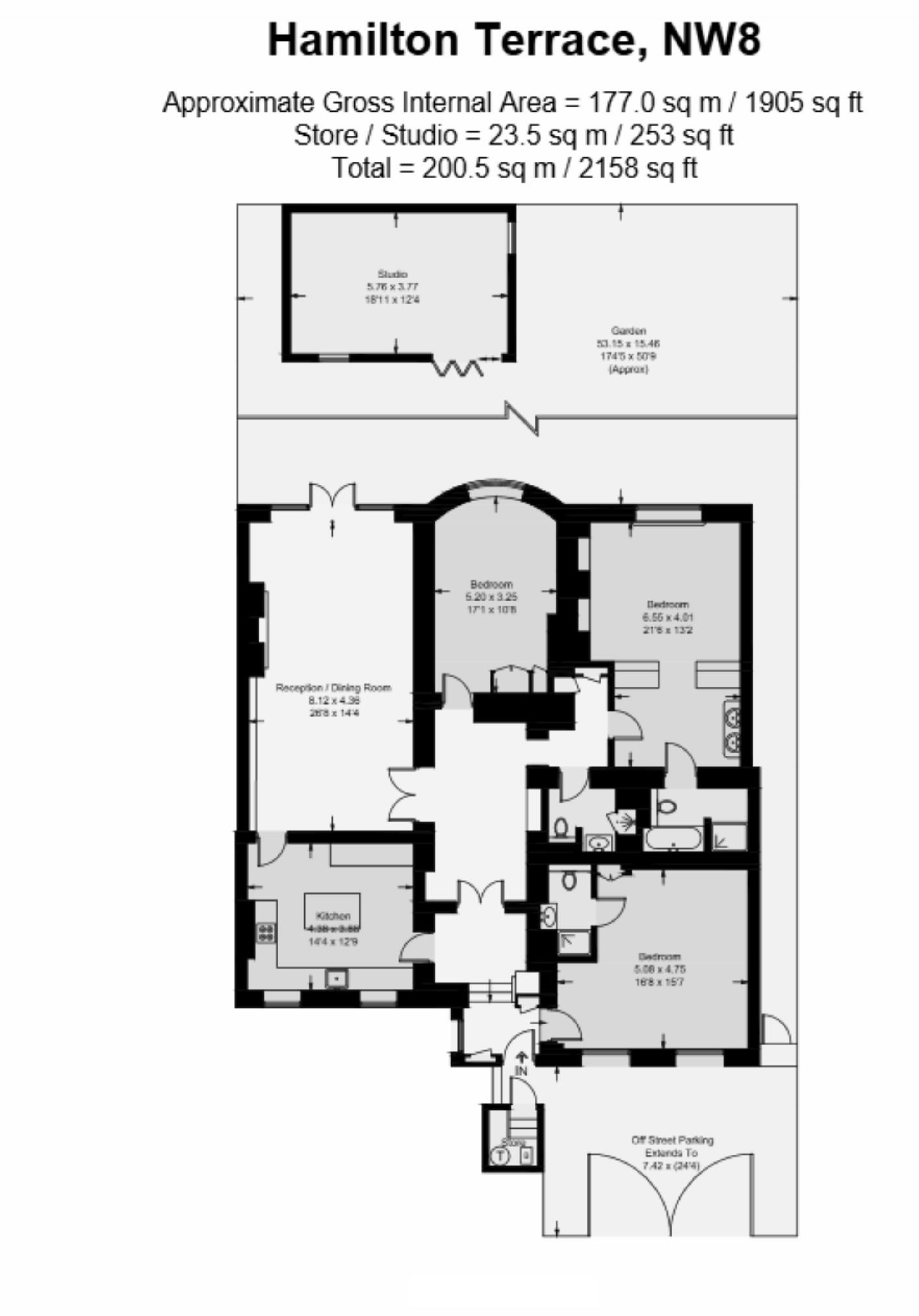 Hamilton terrace london nw8 3 bedroom flat to rent for 63 hamilton terrace