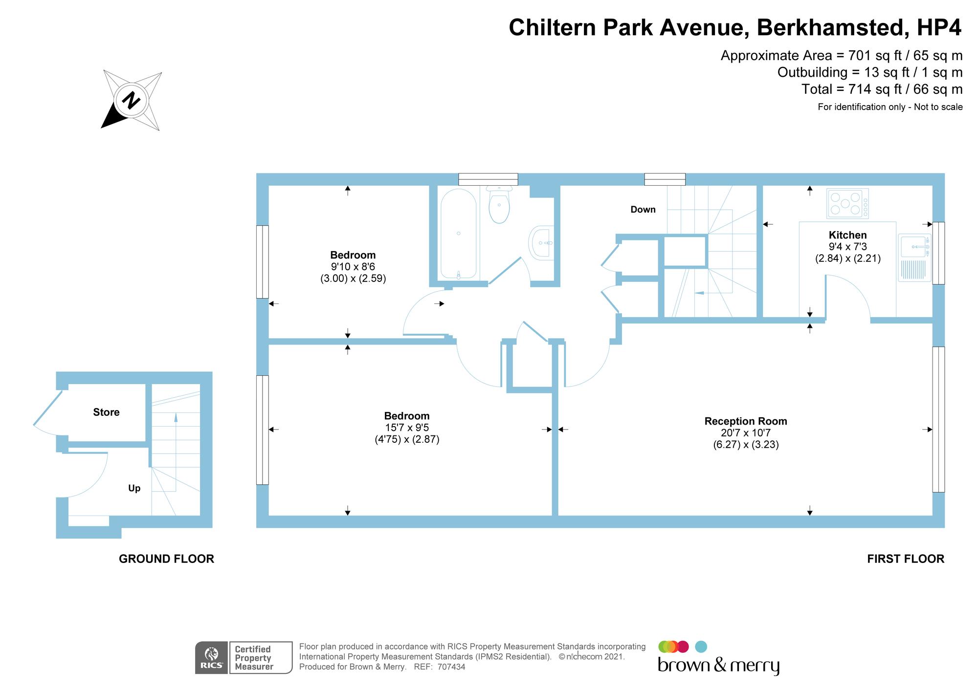 Chiltern Park Avenue Berkhamsted Hp4 2 Bedroom Flat For Sale 58217331 Primelocation