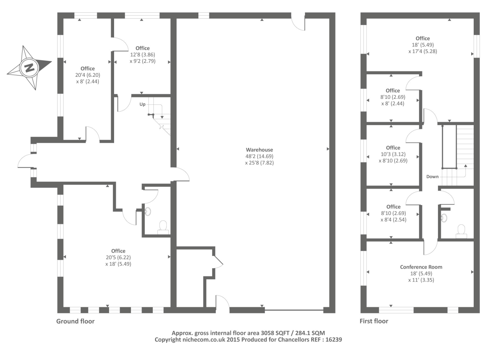 Marlborough business centre hanworth lane chertsey kt16 for Marlborough house floor plan