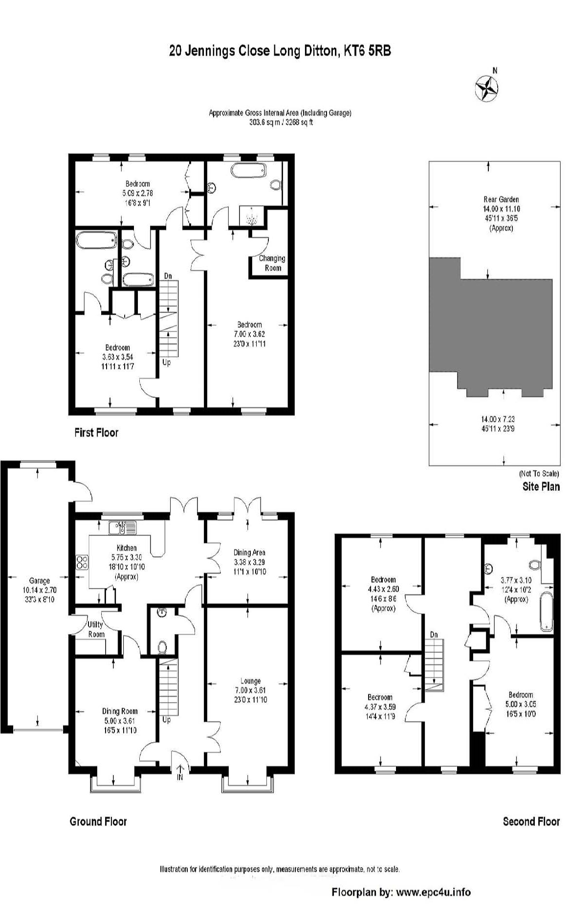 jennings close surbiton kt6 6 bedroom detached house to