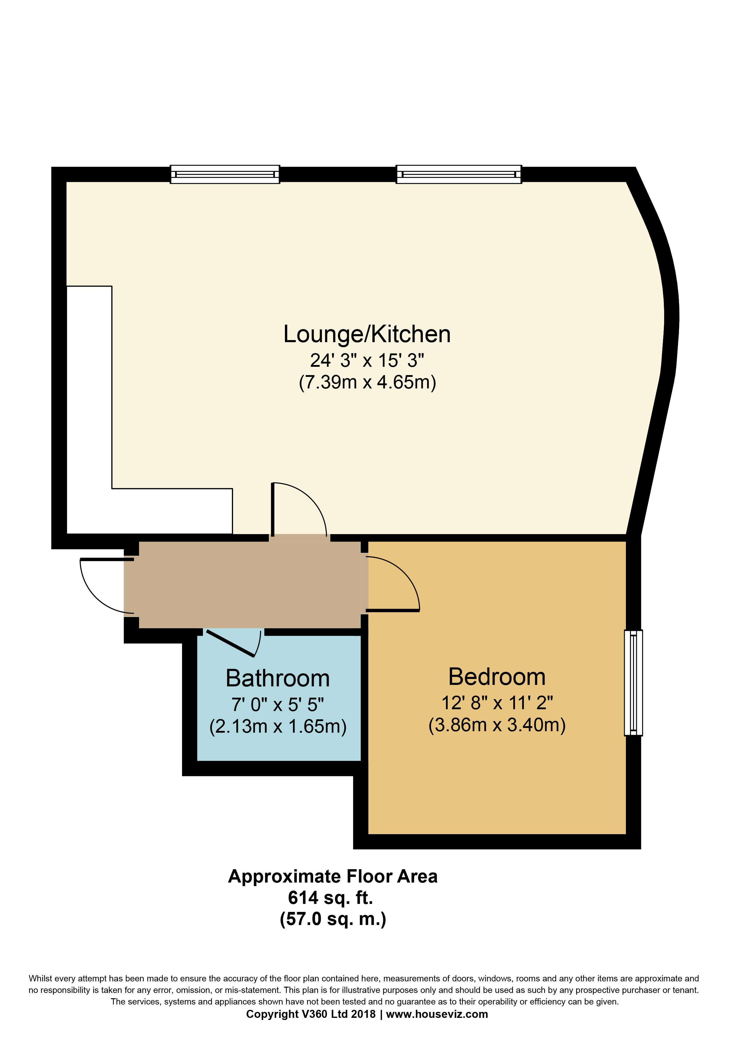 2 Bedrooms Flat to rent in Waterloo Street, Leeds LS10