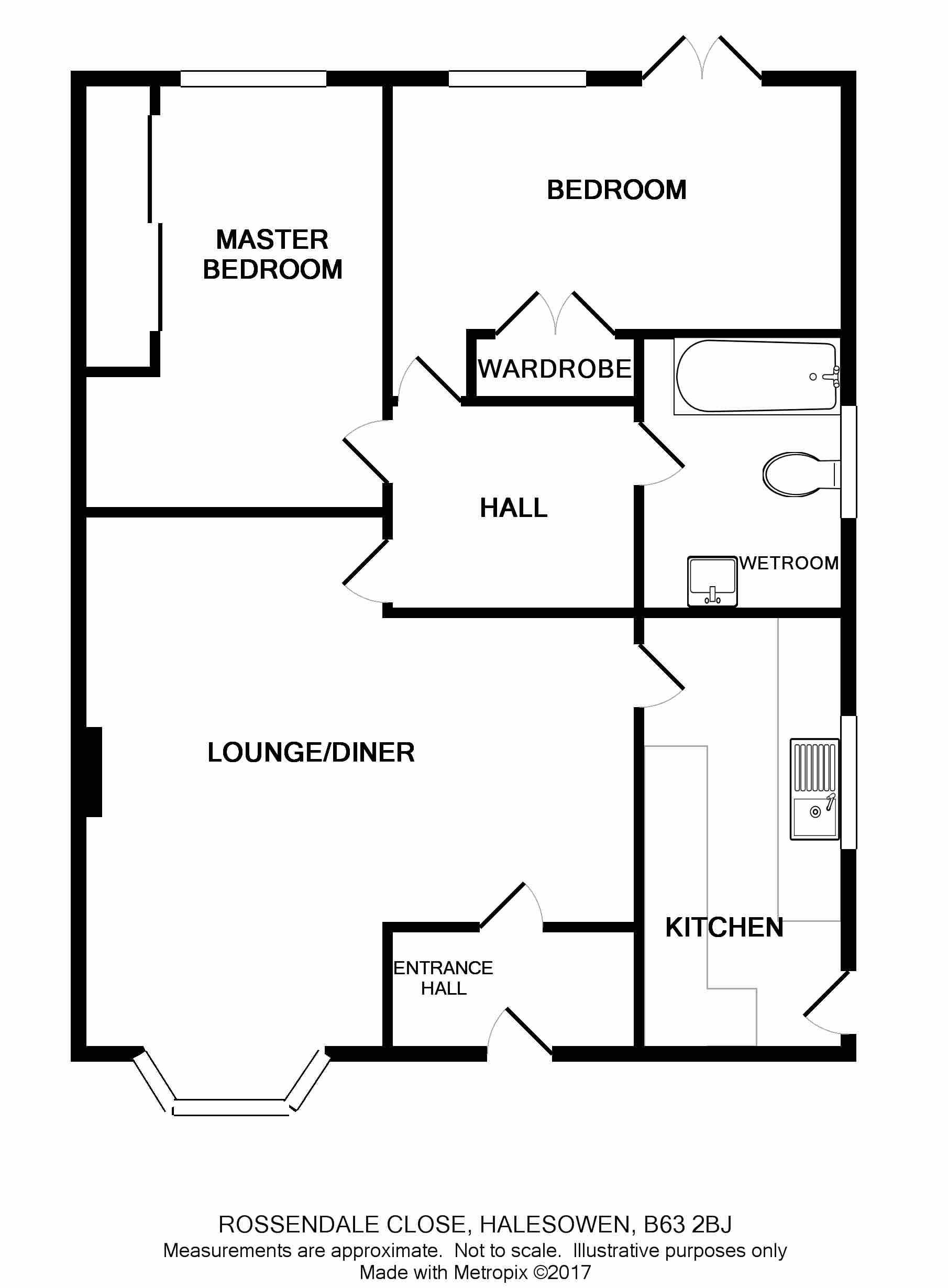Rossendale Close Halesowen B63 2 Bedroom Semi Detached