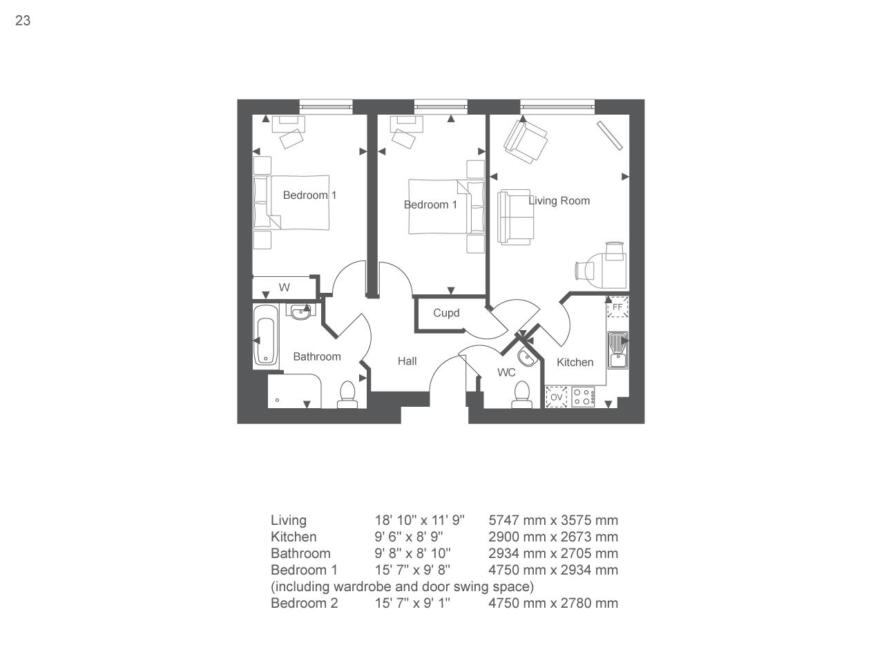 2 Bedroom Flat For Sale In Little Glen Road Glen Parva