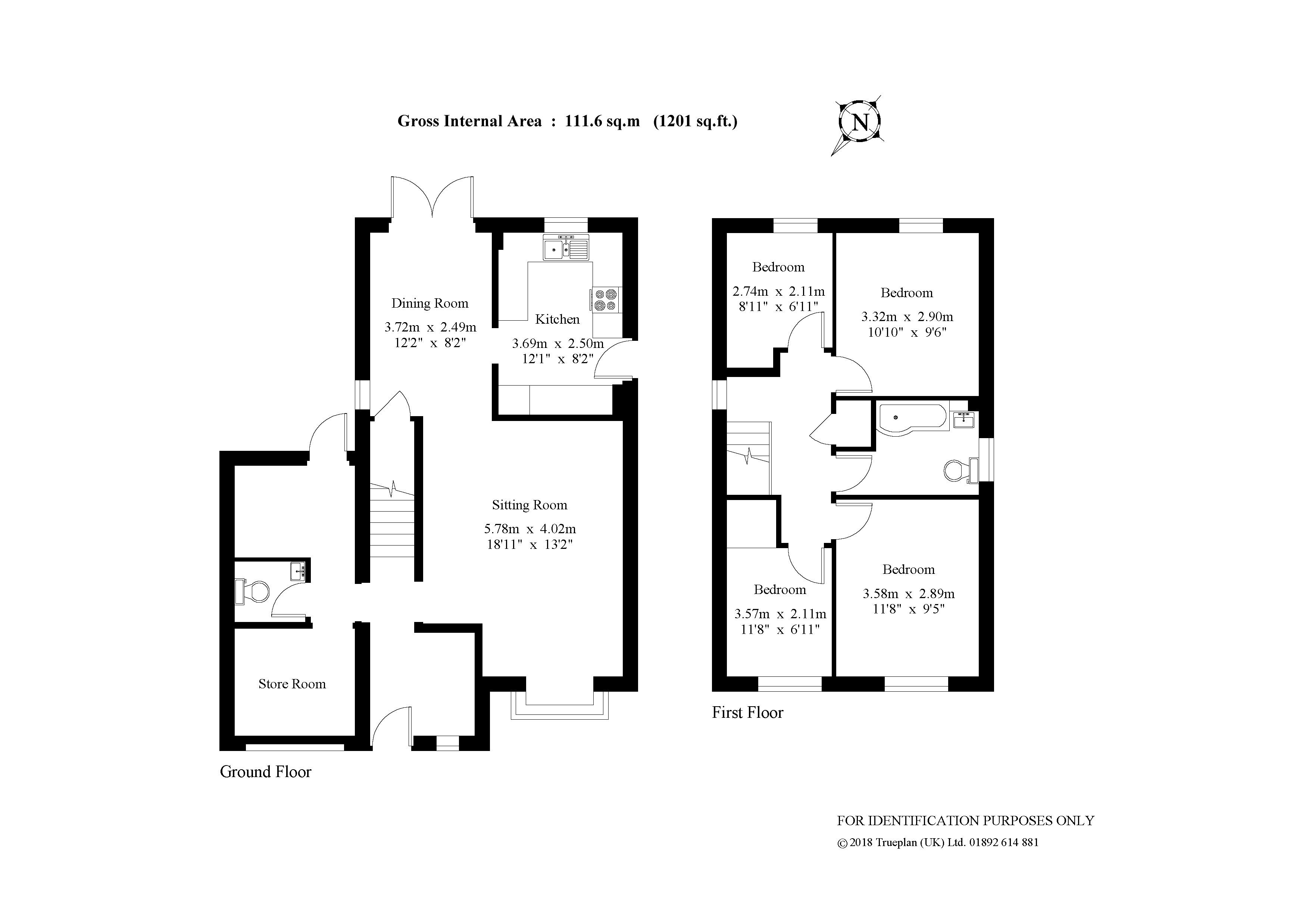 Grove Road Horley Rh6 4 Bedroom Detached House For Sale