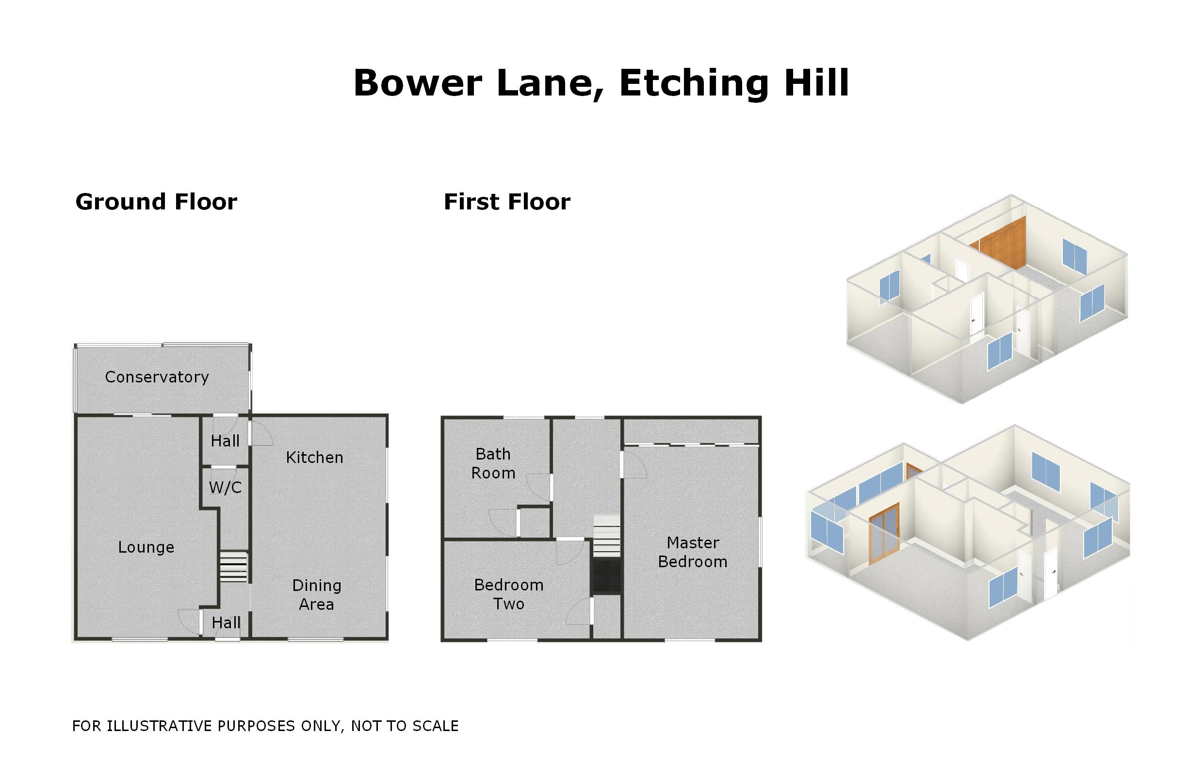 2 Bed Semi Detached House For Sale In Bower Lane Etching