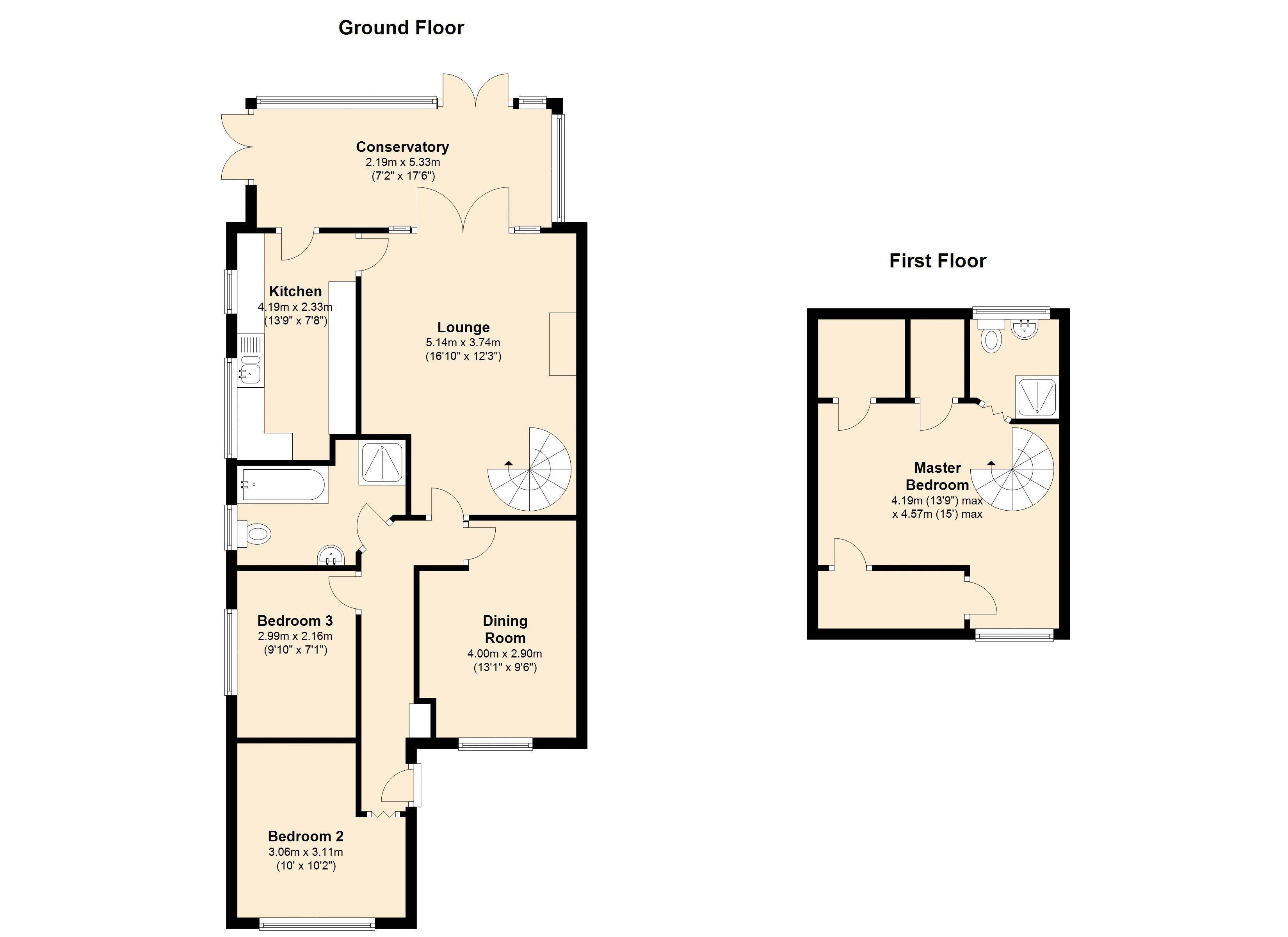 Floor Front Elevation Worship : Bedroom bungalow for sale  primelocation