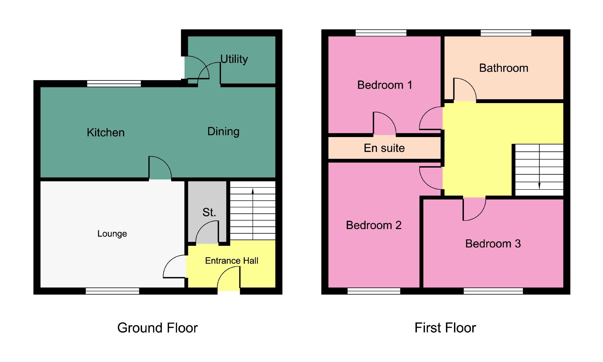 Ashcroft East Kilbride Lanarkshire G74 3 Bedroom Terraced House For Sale 39943637