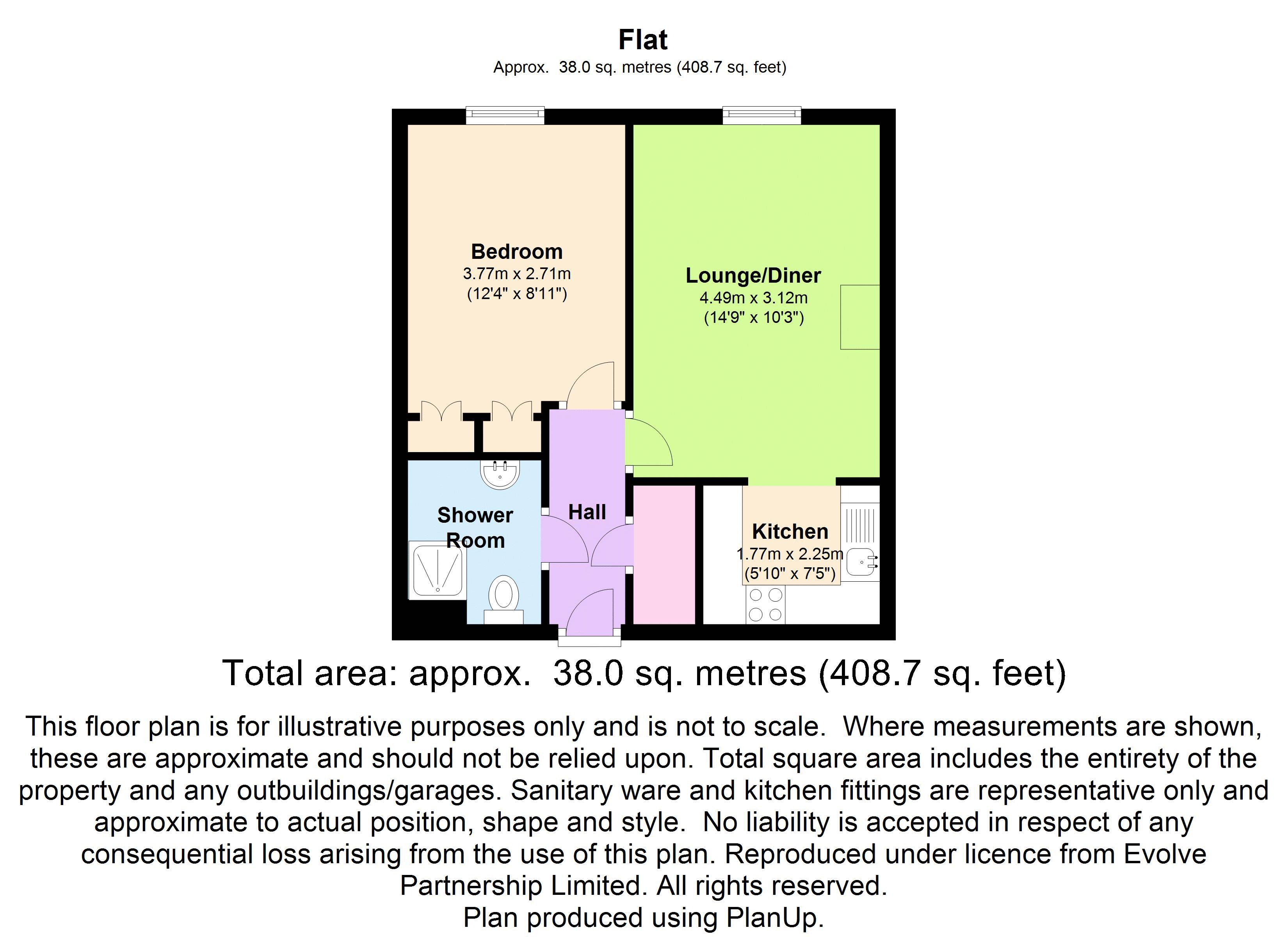 1 Bed Flat For Sale In Popes Court Luton Lu2 Zoopla
