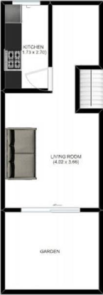 2 Bedrooms Maisonette to rent in Geffrye Street, Bethnal Green, London. E2