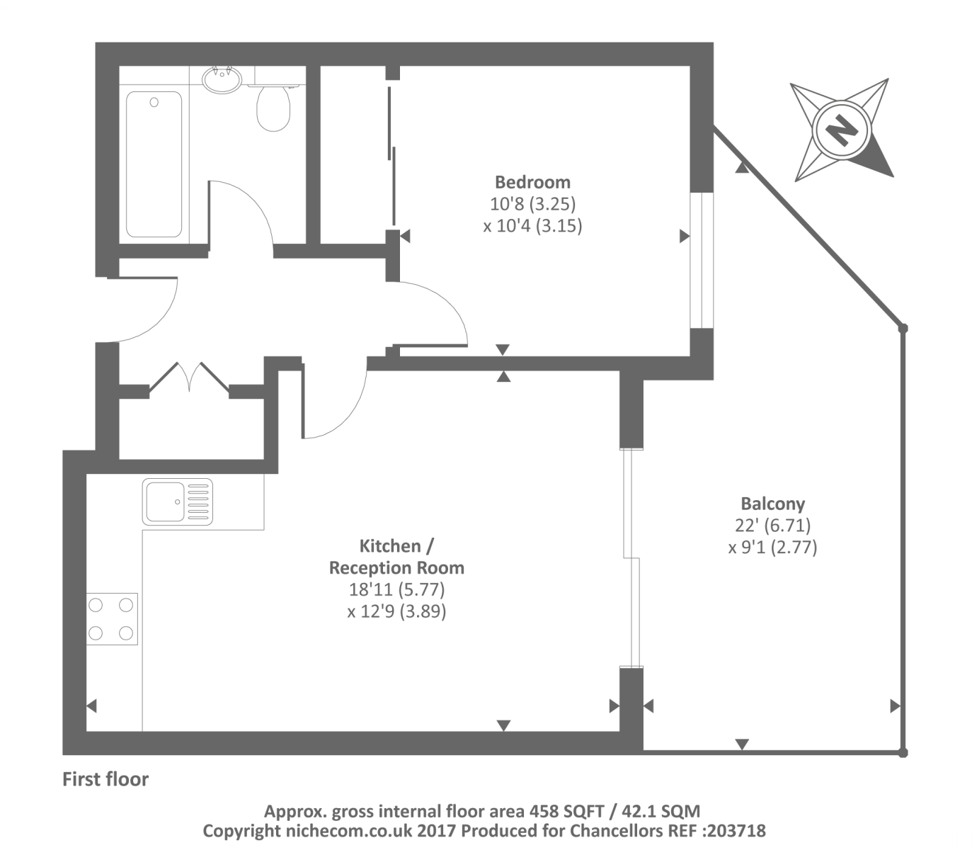 Nightingale House Kennet Island
