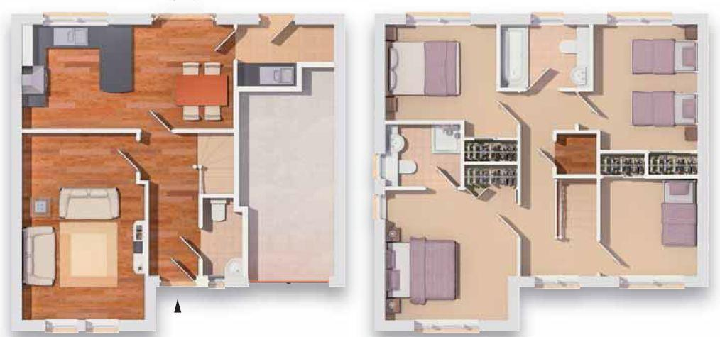 Ostlers way kirkcaldy fife ky2 4 bedroom detached house for Living room kirkcaldy