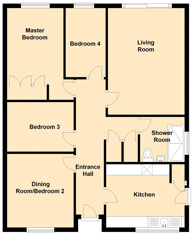 Oakhurst Close Belper De56 3 Bedroom Detached Bungalow