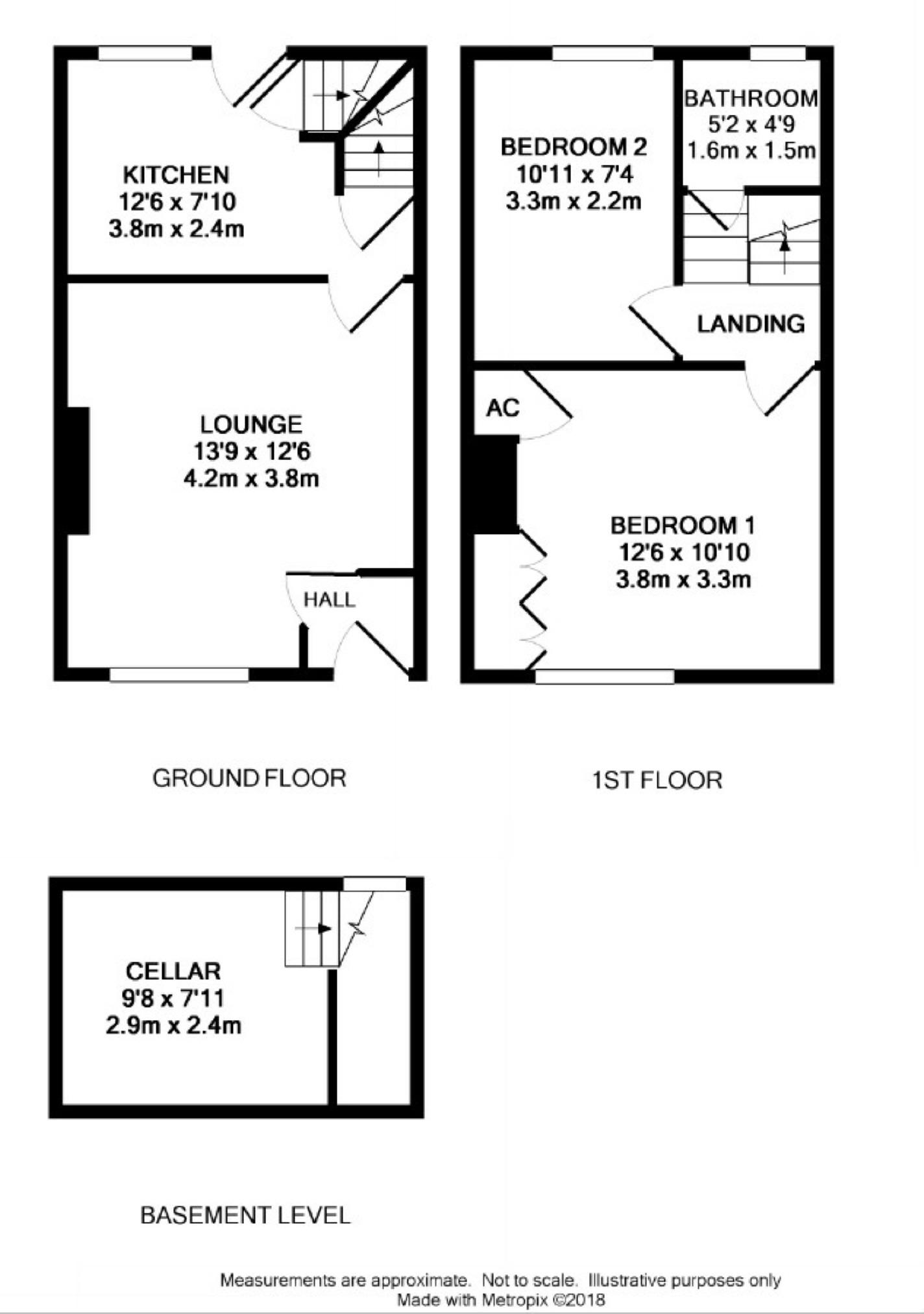 2 Bed Terraced House For Sale In Lightcliffe Road Crosland Moor