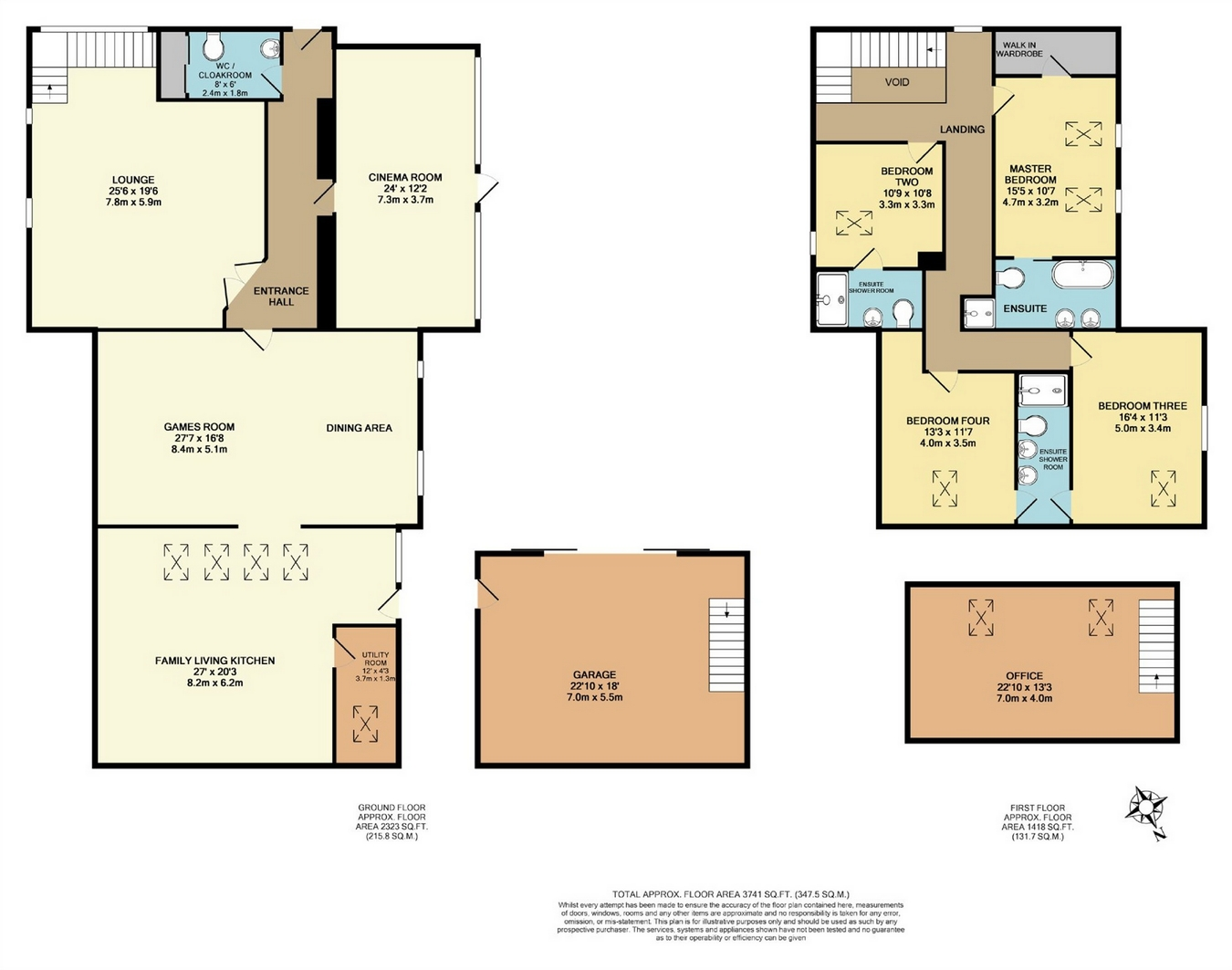 4 Bedrooms Barn conversion for sale in The Stables, Black Bull Farm, Ilkley Road, Burley In Wharfed, Ilkley, West Yorkshire LS29