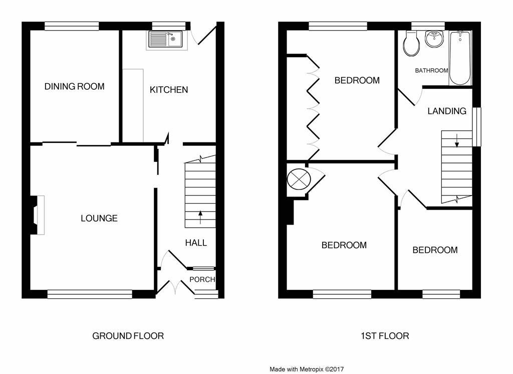 pendennis road  staple hill  bristol bs16  3 bedroom