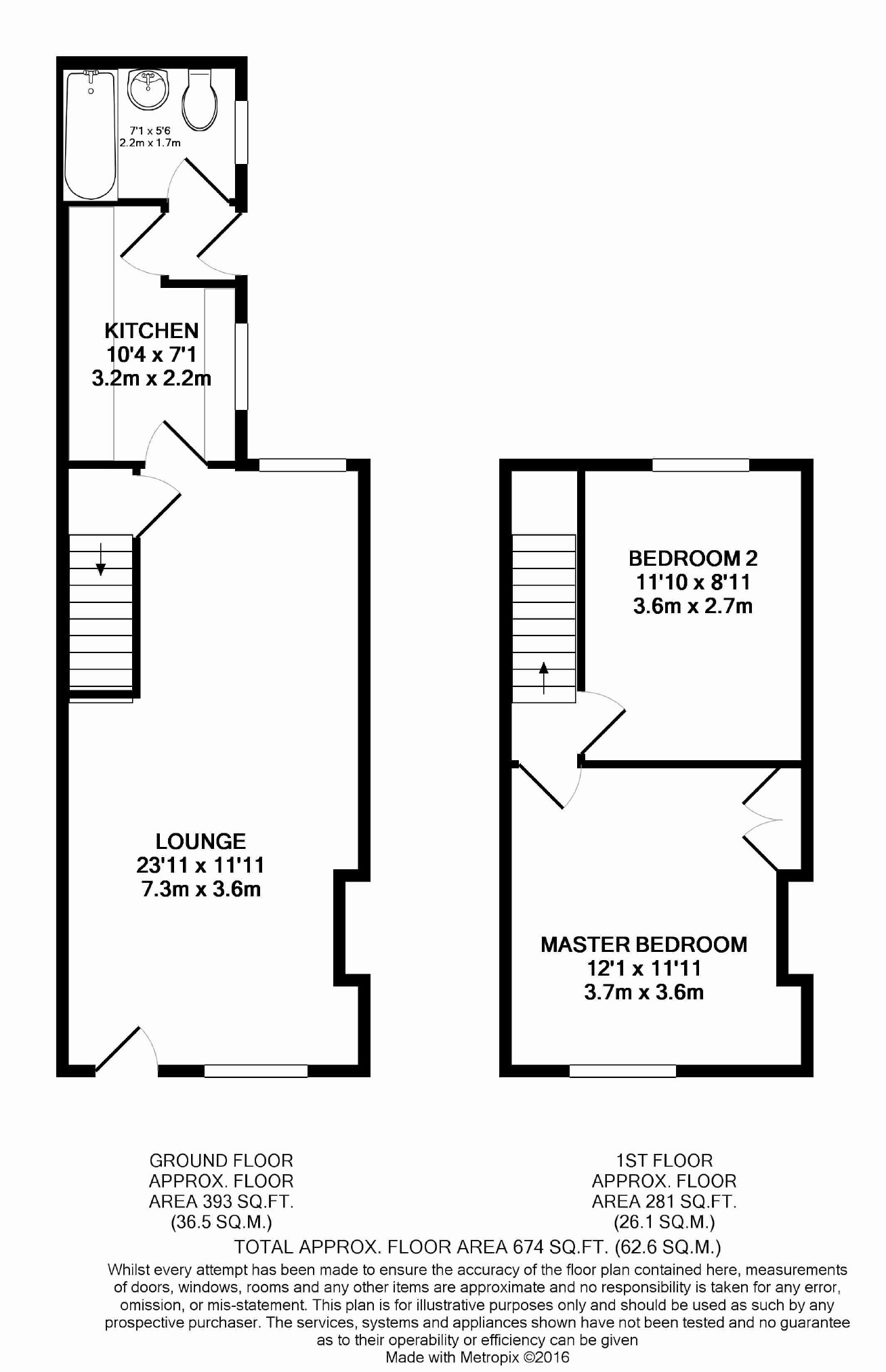 Kitchener street york yo31 2 bedroom terraced house to for 3 kitchener street leeds