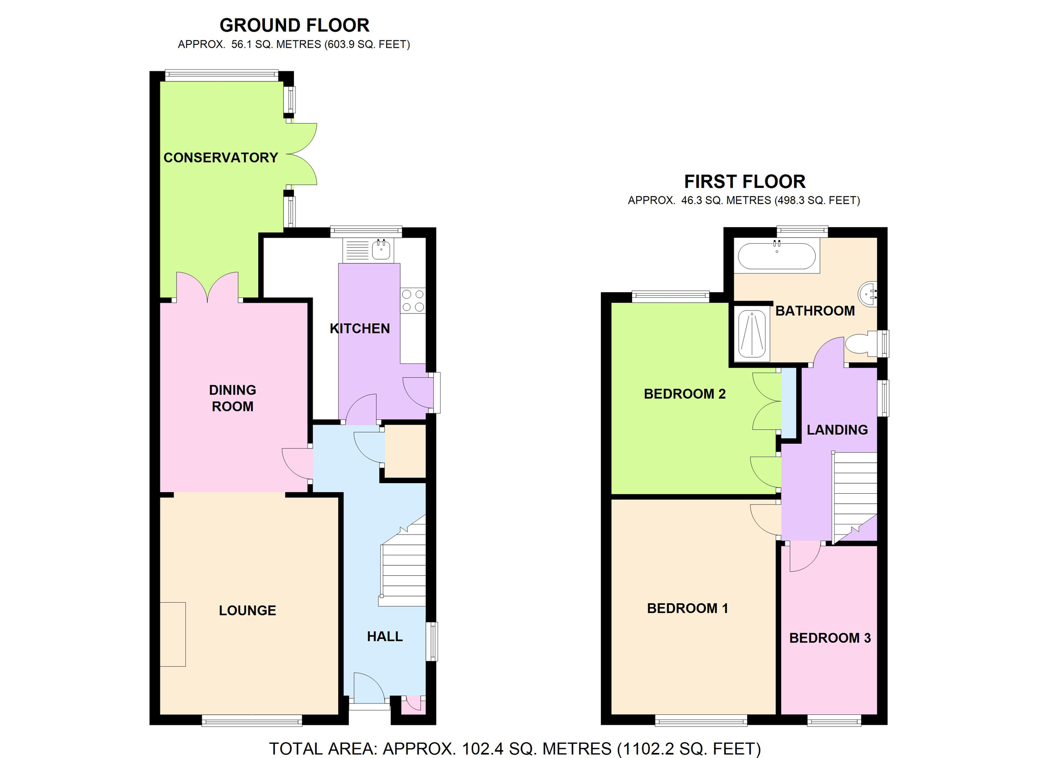 Clinton Lane, Kenilworth, Warwickshire CV8, 3 bedroom semi ...