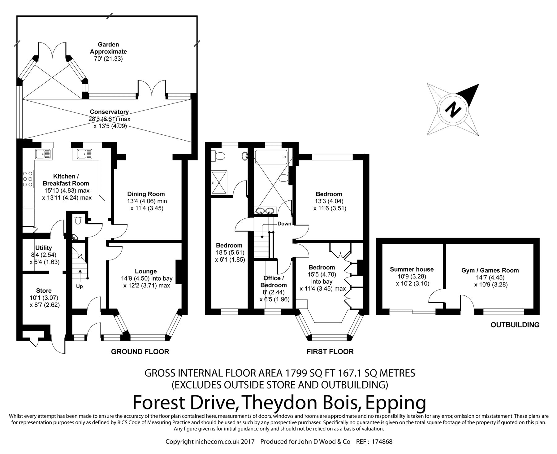 4 bed semi detached house for sale in forest drive theydon bois epping essex cm16 43634642. Black Bedroom Furniture Sets. Home Design Ideas