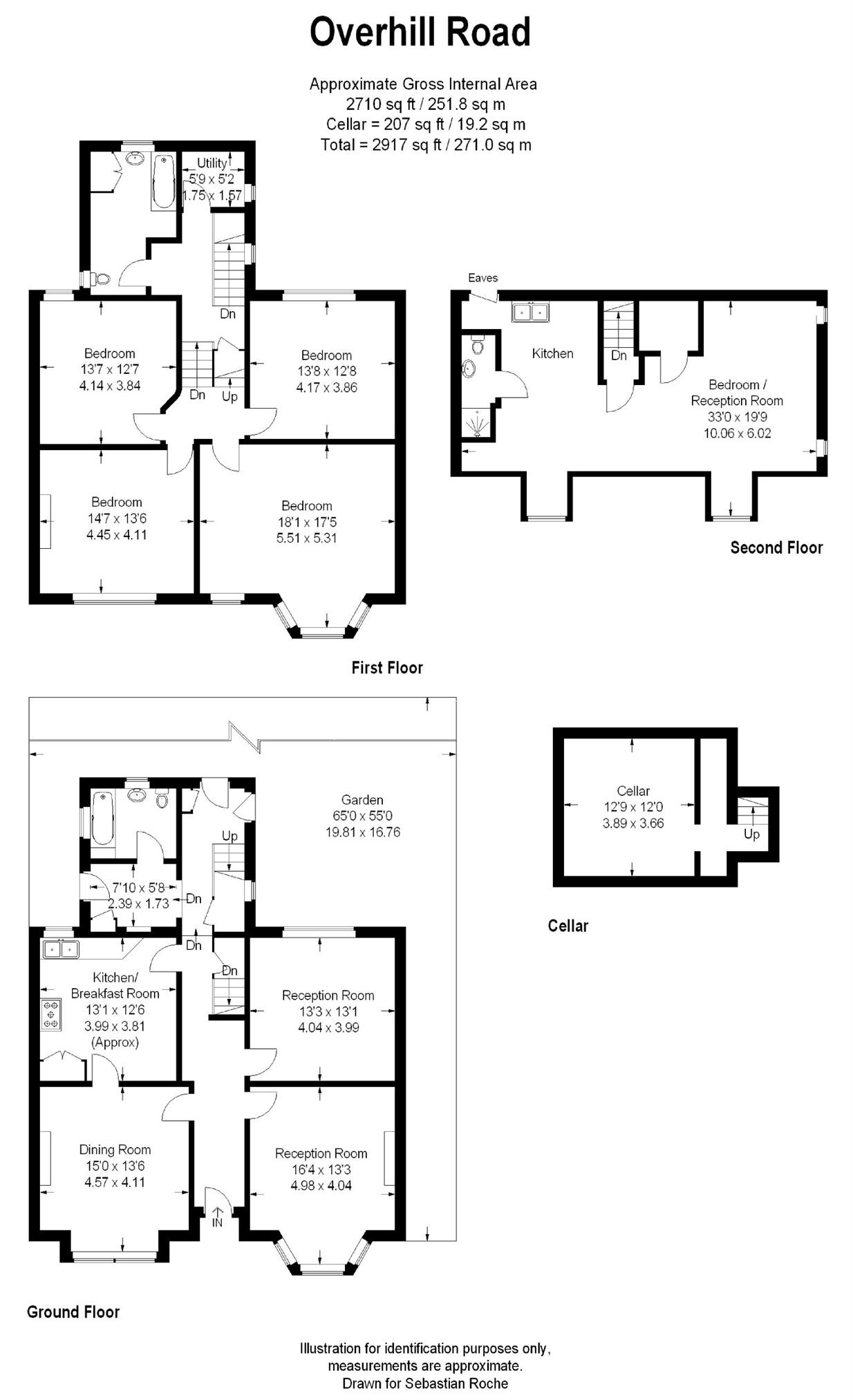 Overhill road london se22 5 bedroom end terrace house for 1 9 terrace road dulwich hill