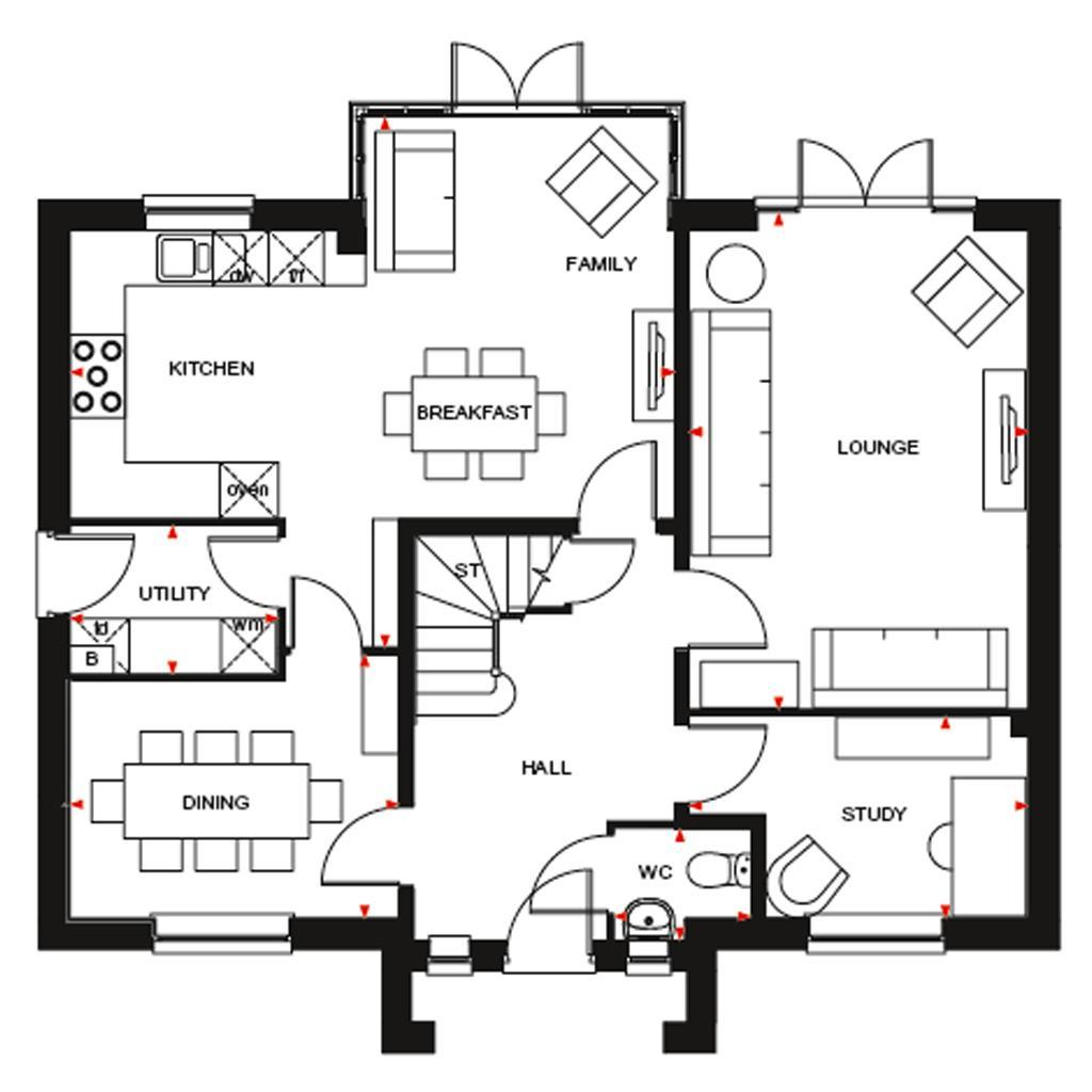 Winstone At Newton Lane Wigston Le18 4 Bedroom Detached House For Sale 58545167 Primelocation