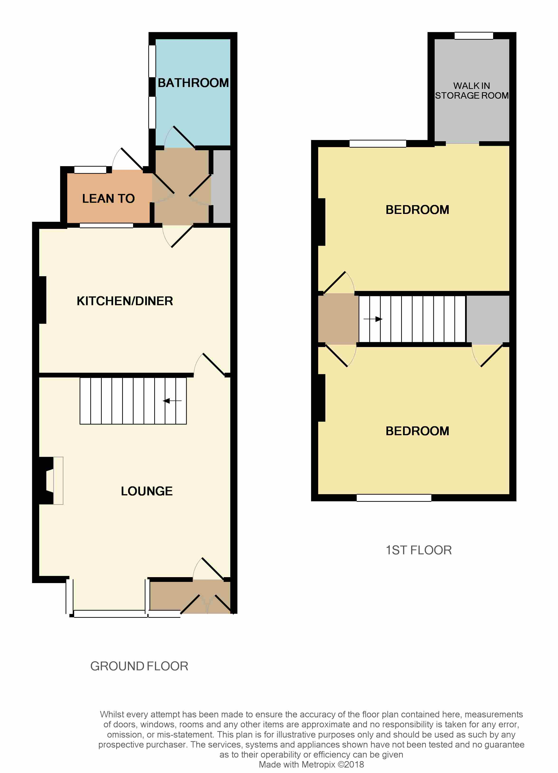 2 bed terraced house for sale in preston road coppull for Boundary wall cost calculator