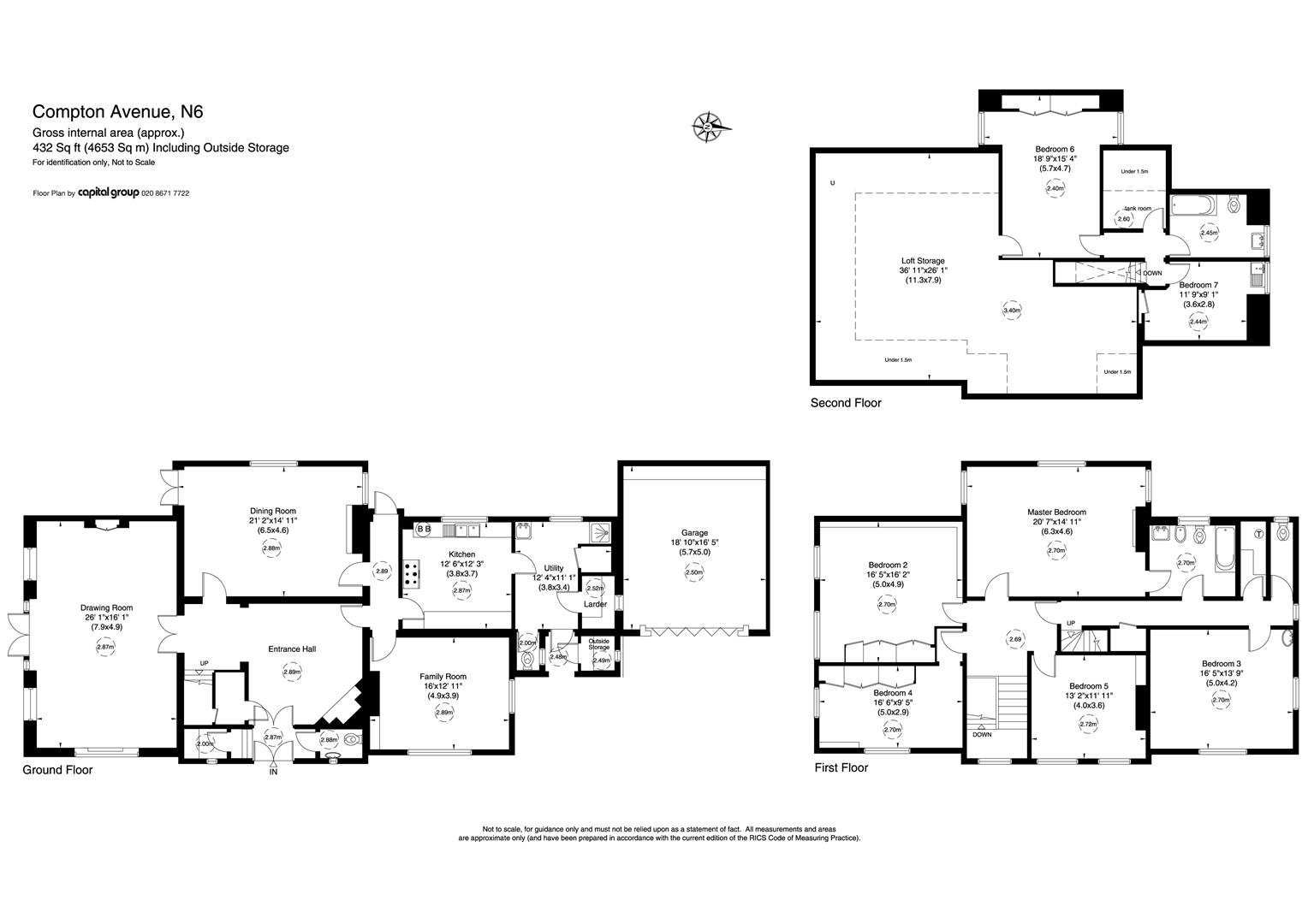 architectural plans for homes 7 bedroom detached house for 44746627 primelocation 15691