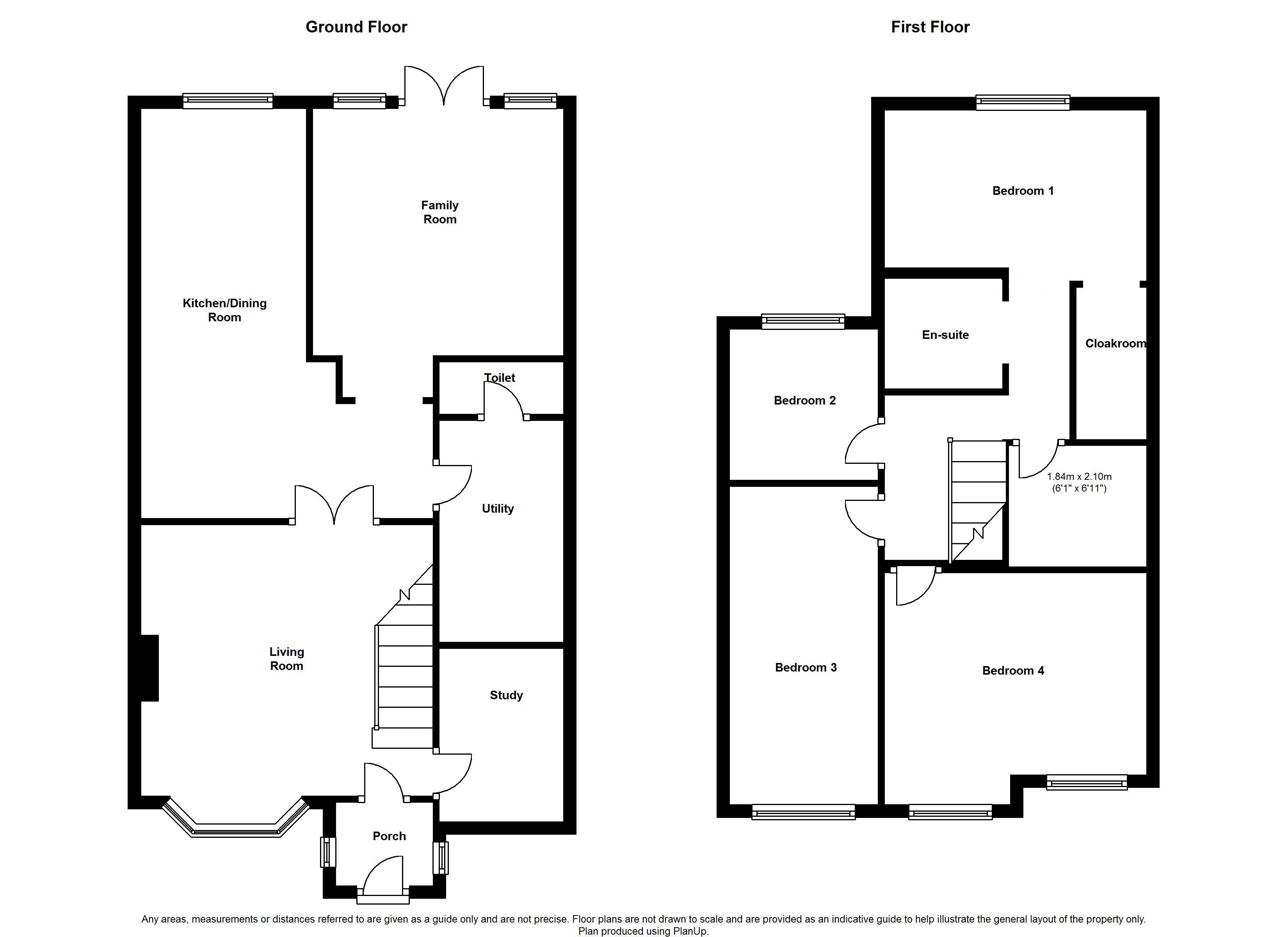 Leeds avenue north anston sheffield s25 4 bedroom semi for Sheffield floor plan