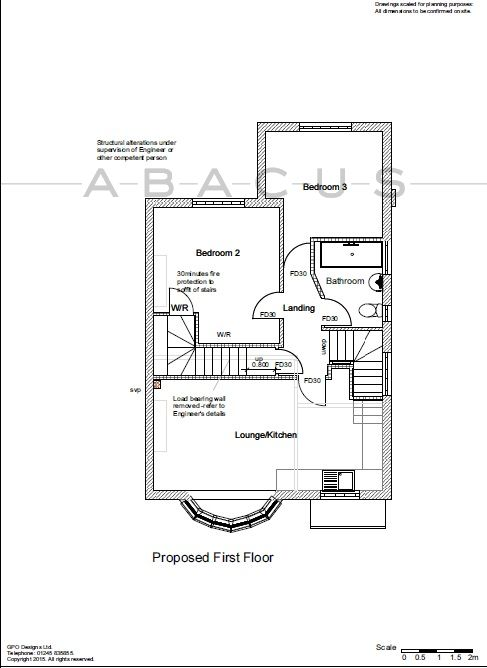 Robson avenue willesden nw10 3 bedroom duplex for sale for Up down duplex floor plans