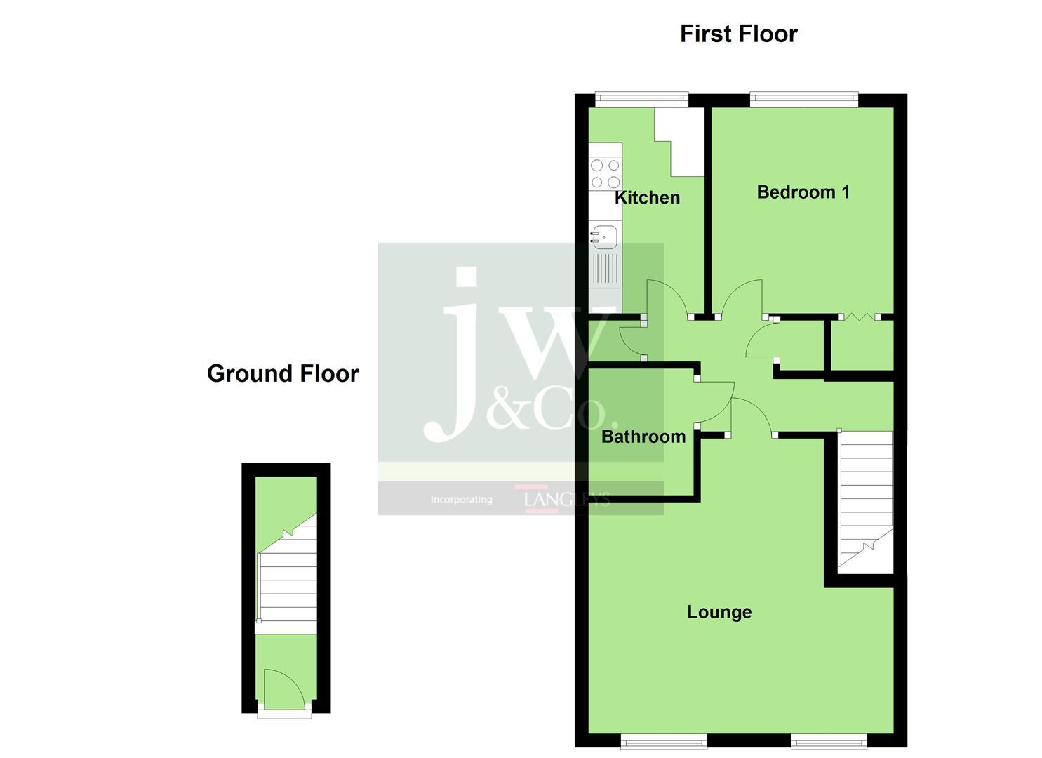 Ashfield Avenue Bushey Wd23 1 Bedroom Maisonette For