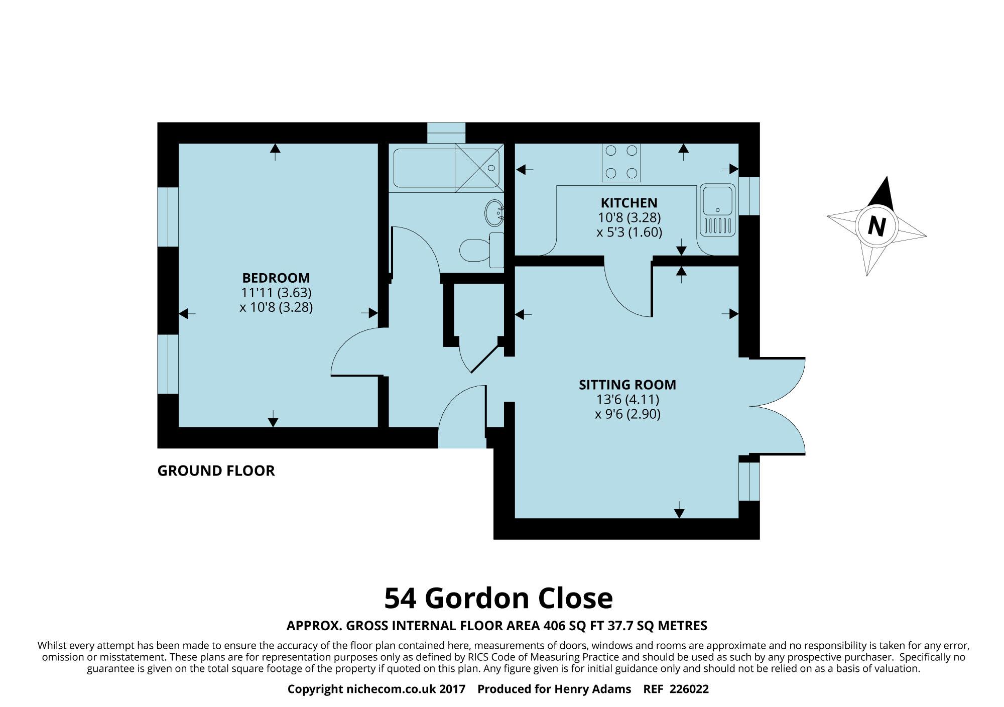 Gordon Close, Haywards Heath RH16, 1 bedroom flat for sale ...