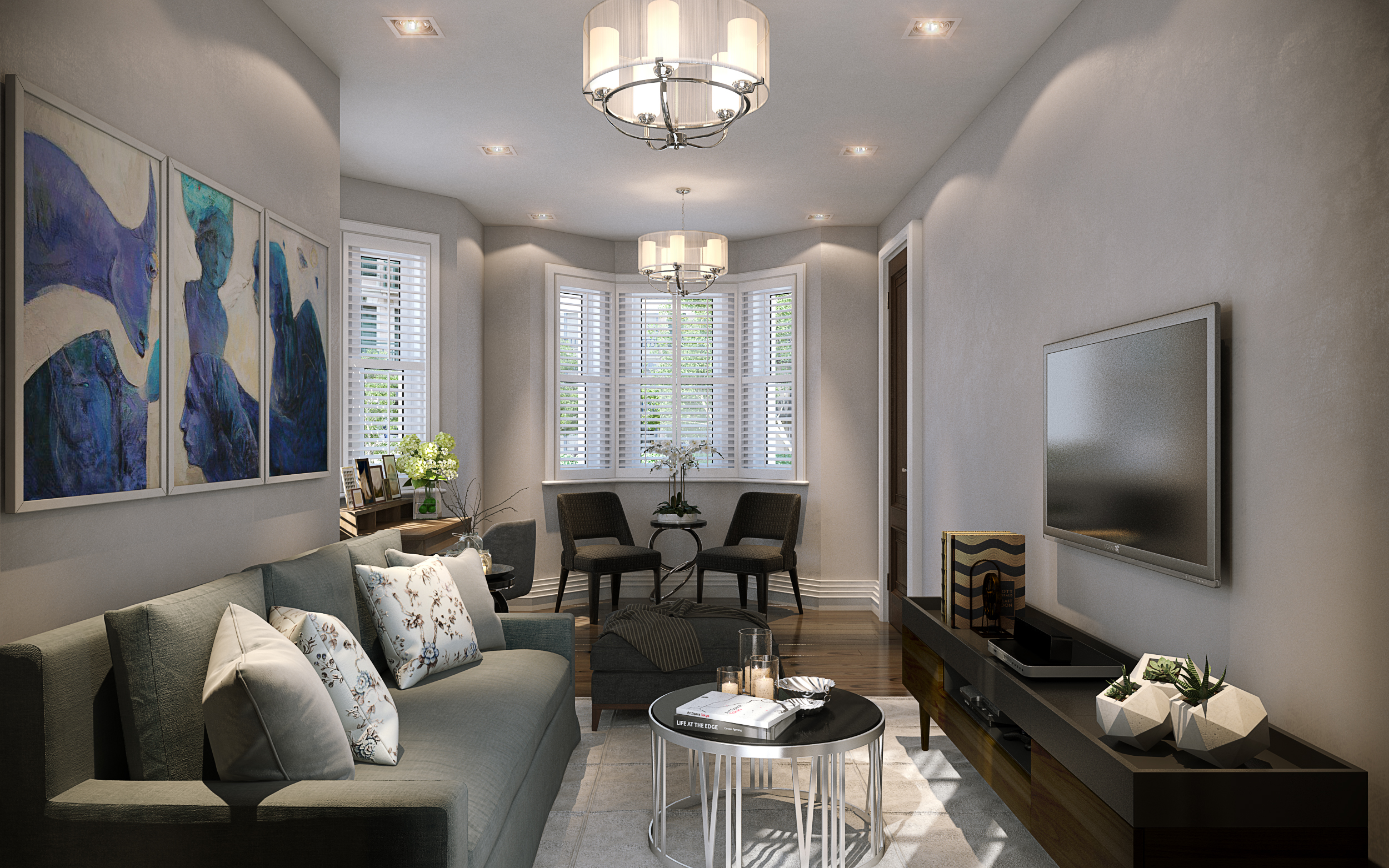 Lusso Homes,Lounge
