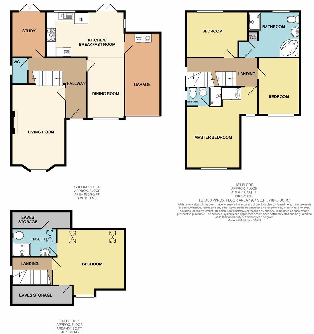 4 bed detached house for sale in highgrove road lancaster for Highgrove house floor plan