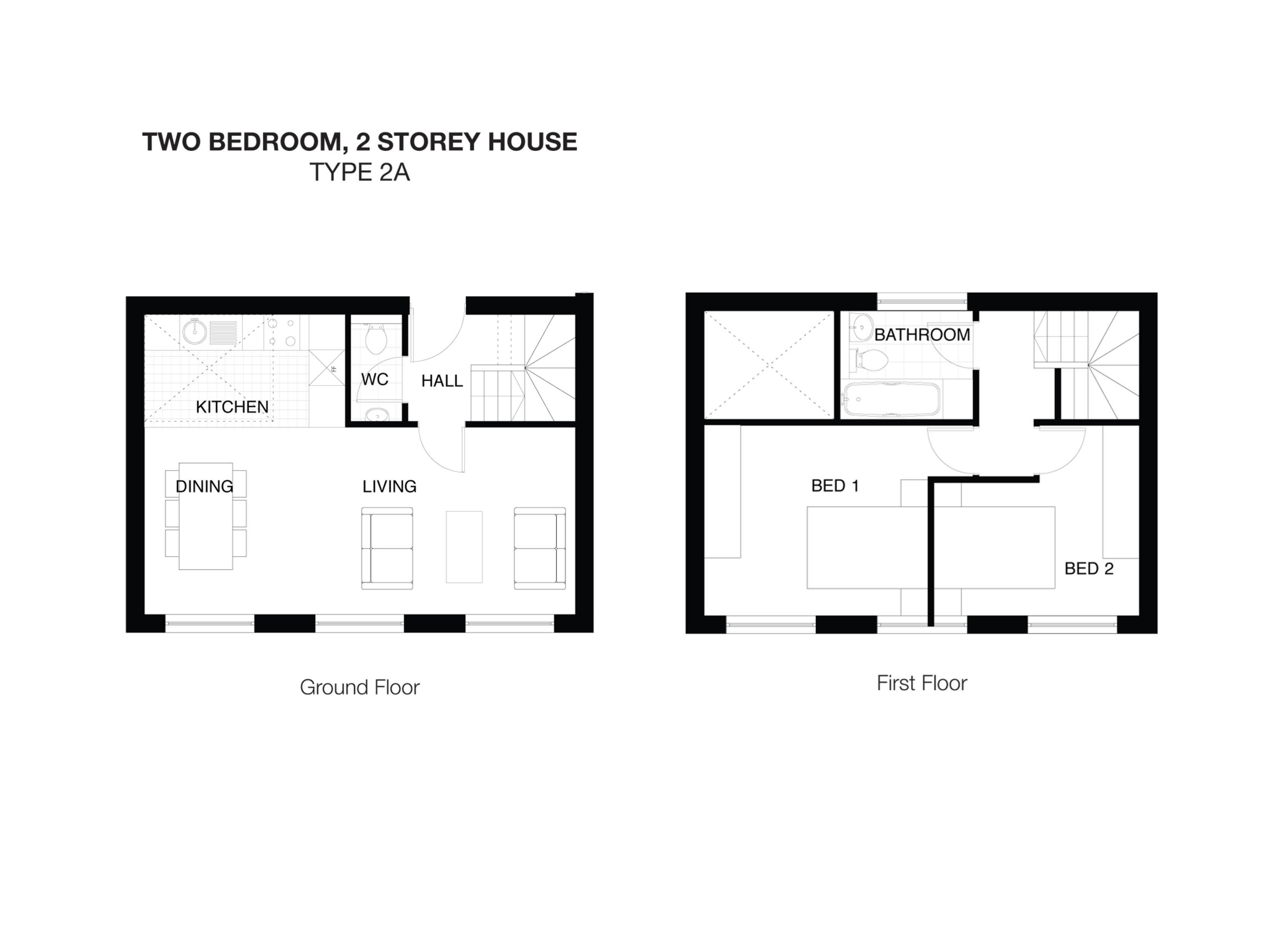 Simple 2 Y House Design Plans Philippines With Two Floor Plan Balcony Minima Roof