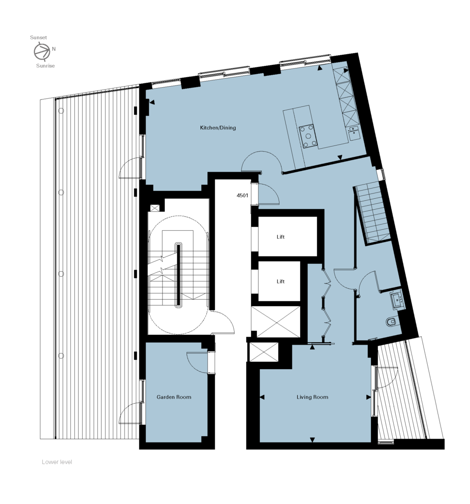 New home, 2 bed flat for sale in \