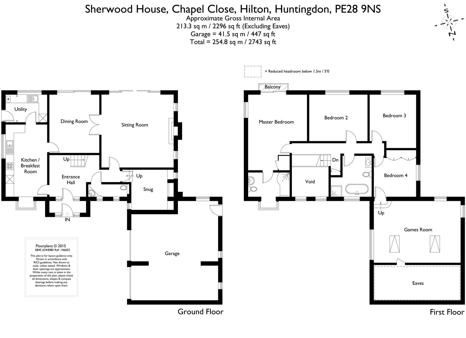 Chapel Close Hilton Huntingdon Pe28 4 Bedroom Detached