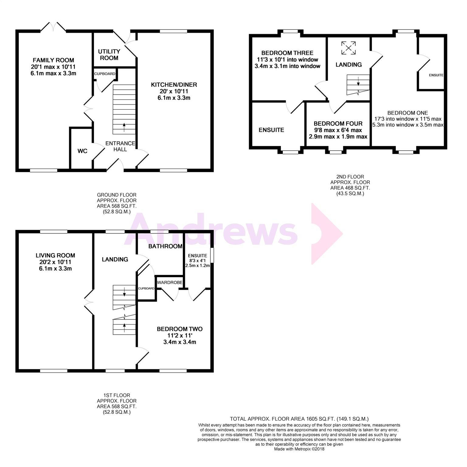 4 Bed Detached House For Sale In Wilkinson Place Witney