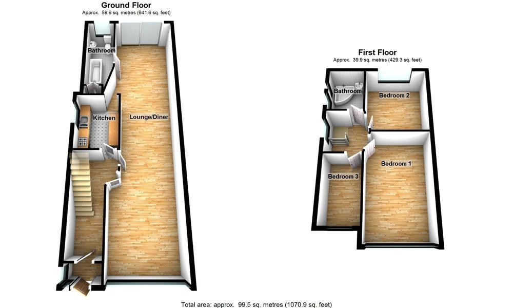 Beresford Avenue Hanwell London W7 3 Bedroom Semi