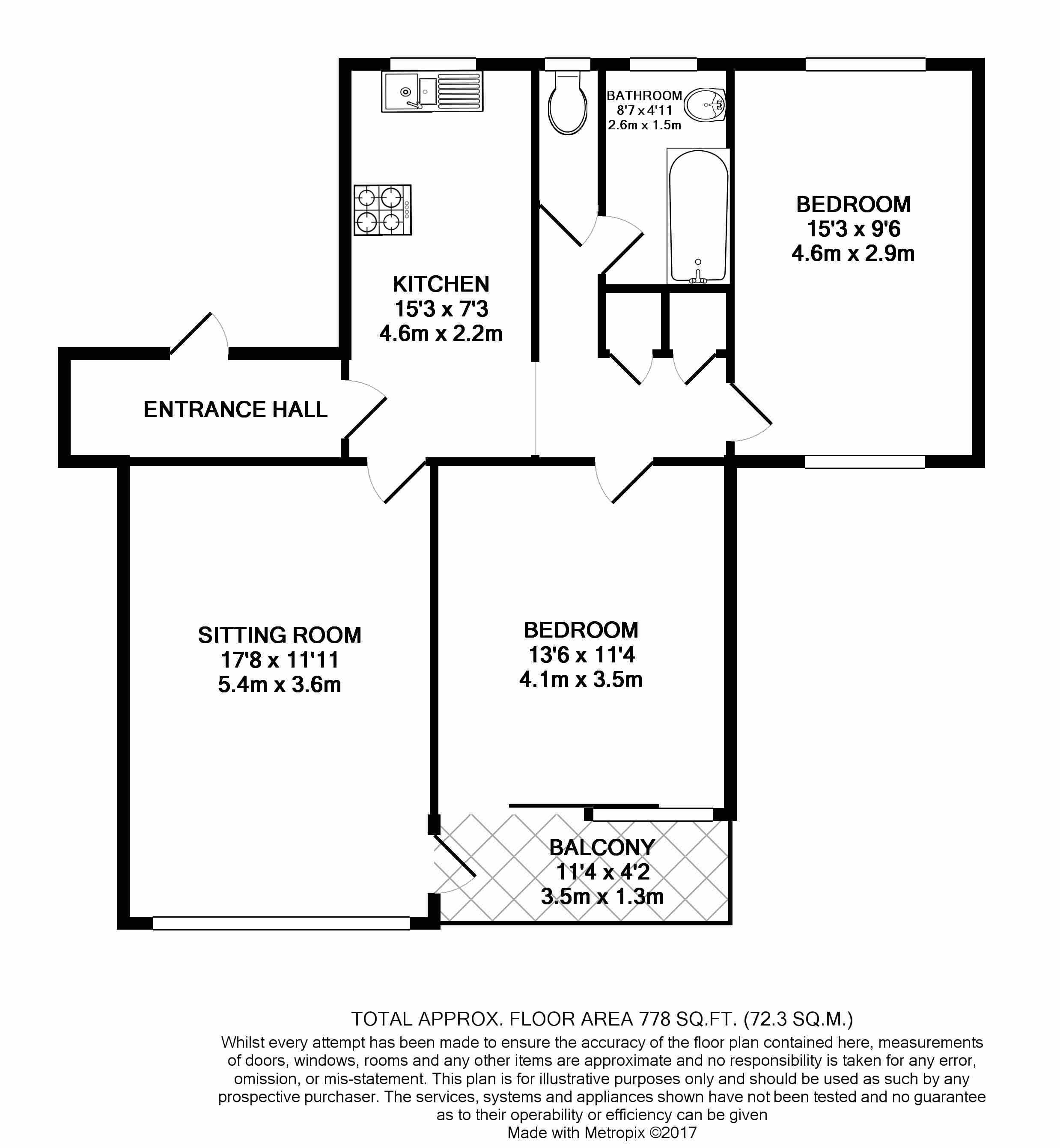 Marina court the marina deal ct14 2 bedroom flat for for 125 court street floor plans
