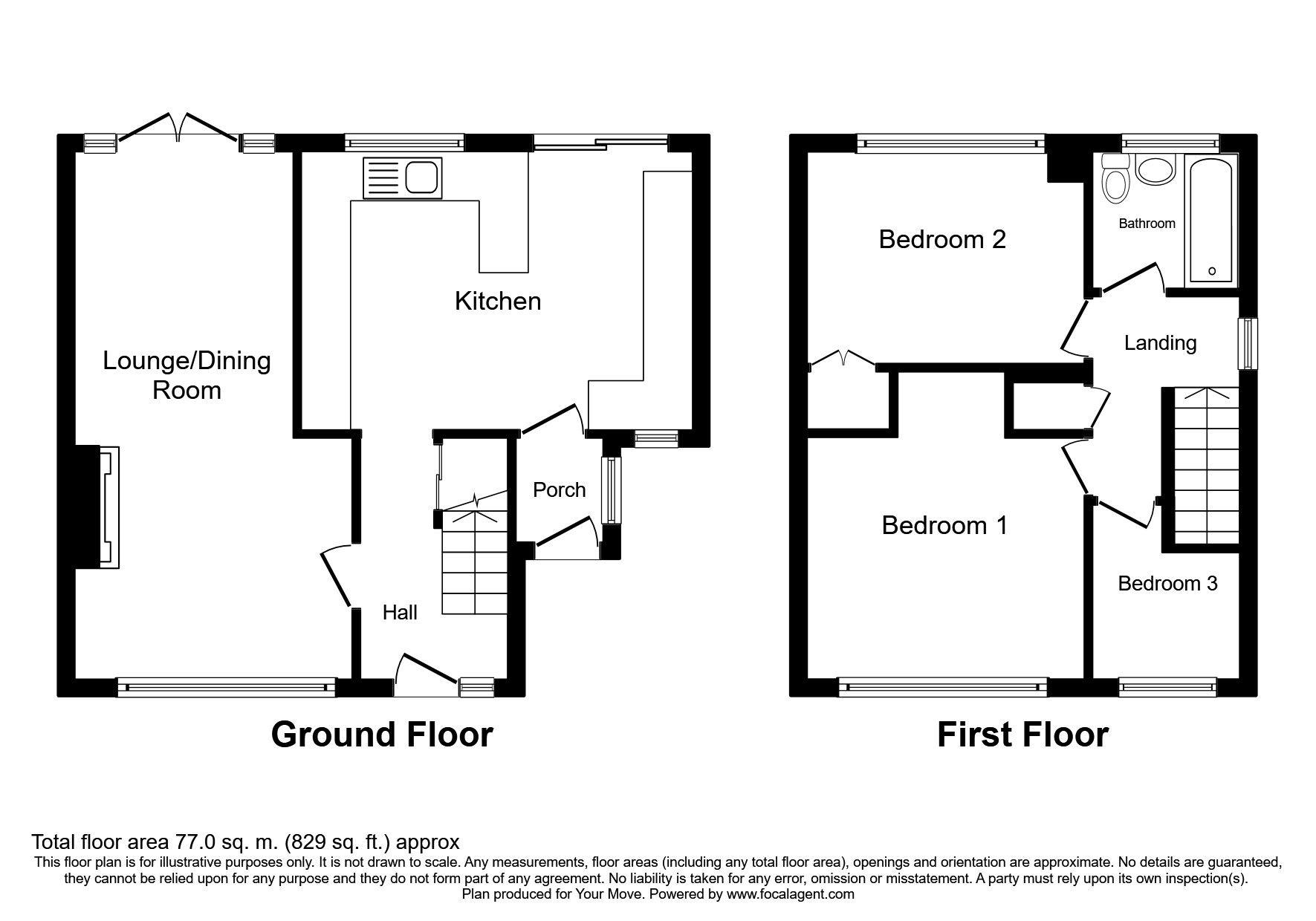 3 Bedrooms Semi-detached house for sale in Allison Avenue, Swadlincote DE11