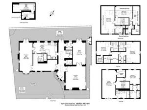 Marlborough place st johns wood nw8 6 bedroom detached for Marlborough house floor plan