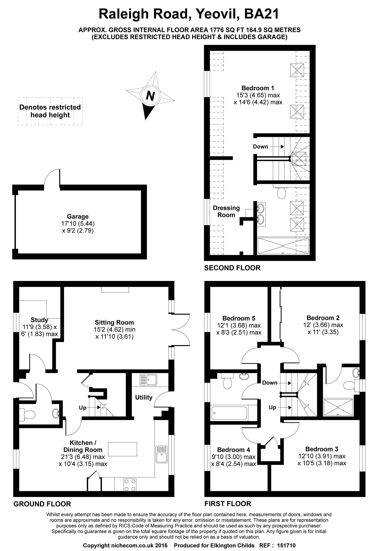 Raleigh road yeovil ba21 5 bedroom detached house for for Bedroom furniture yeovil