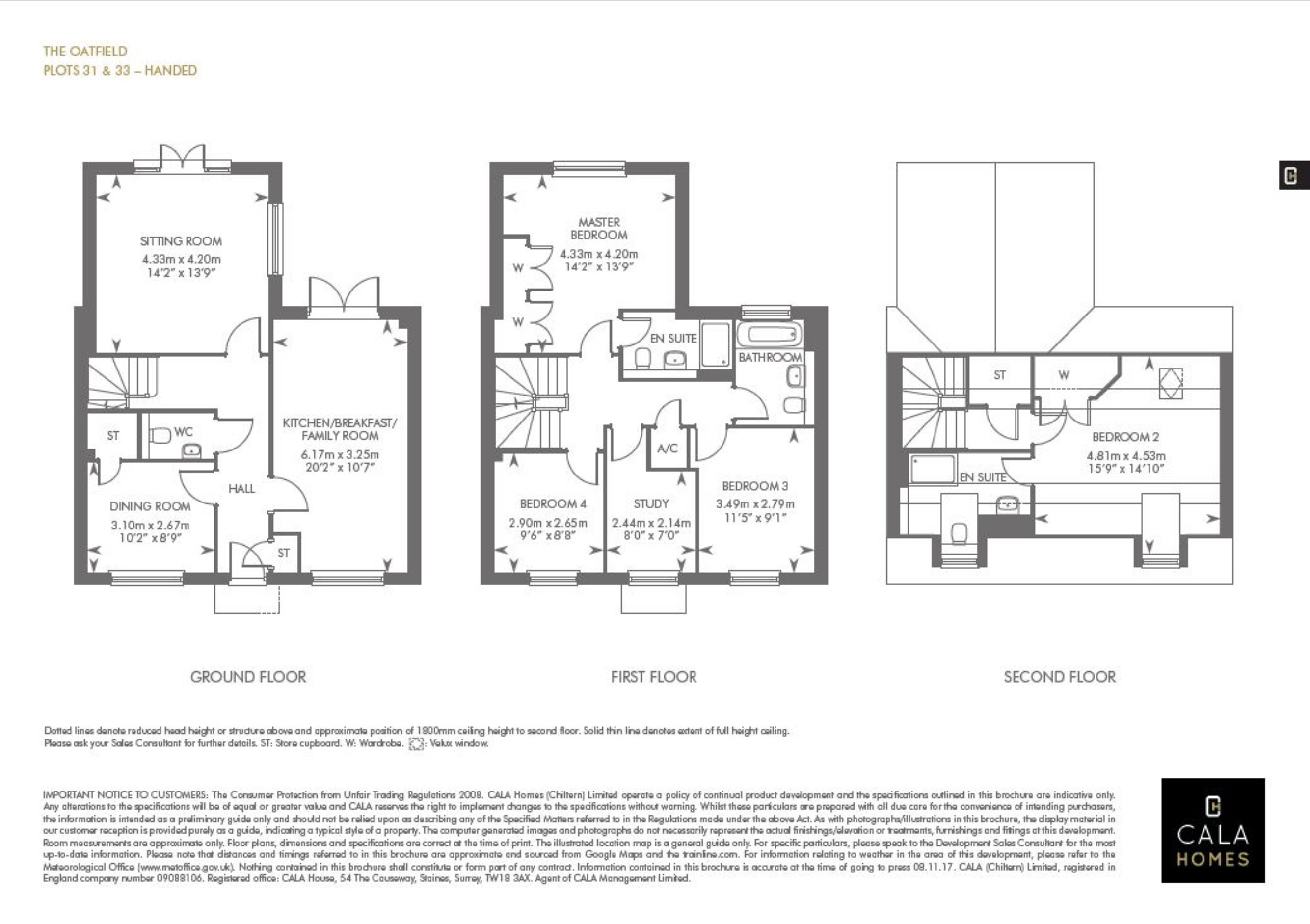 New Home 4 Bed Detached House For Sale In Weston Road Aston Wiring Diagram Floorplan 1