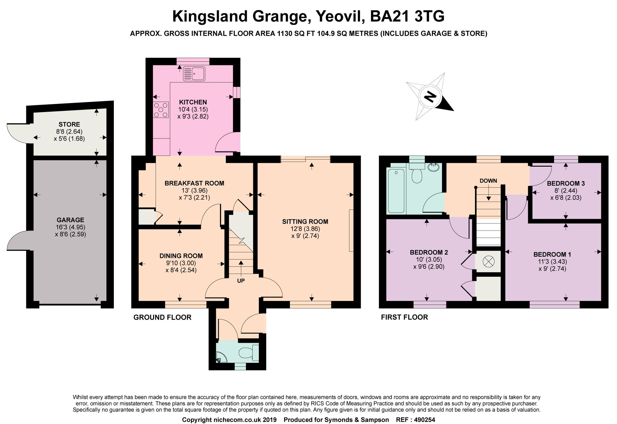 3 Bedrooms Semi-detached house for sale in Kingsland Grange, Yeovil, Somerset BA21