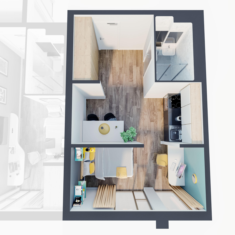 0 Bedrooms Studio for sale in Flat 25 Norton Street, Liverpool L3