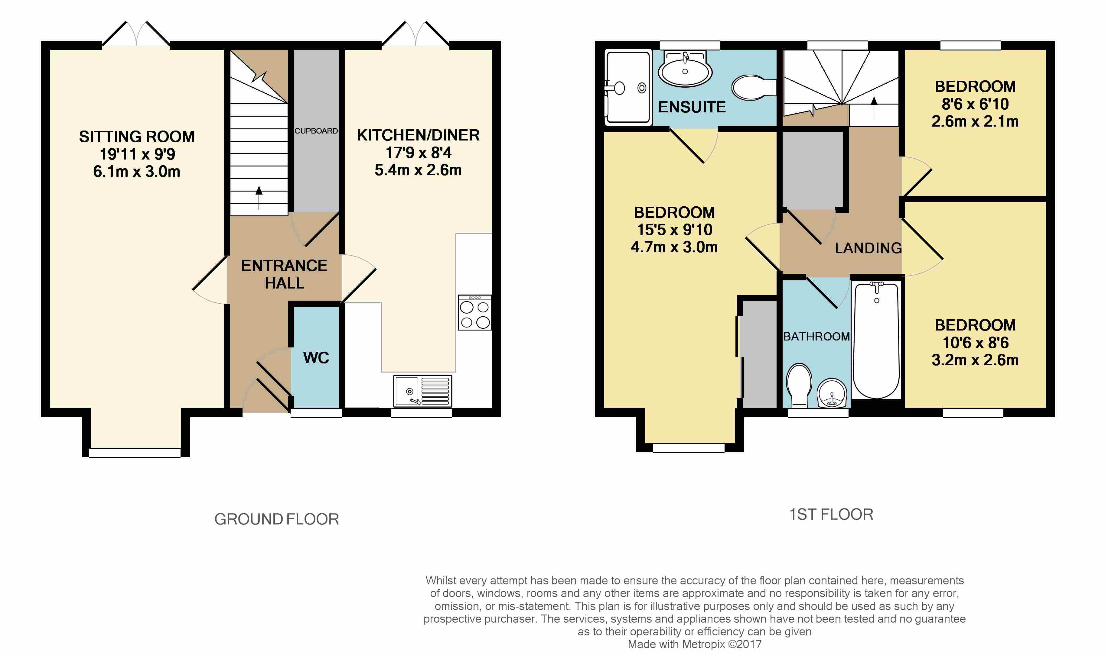 3 Bedrooms Semi-detached house for sale in Knox Road, Haywards Heath RH17