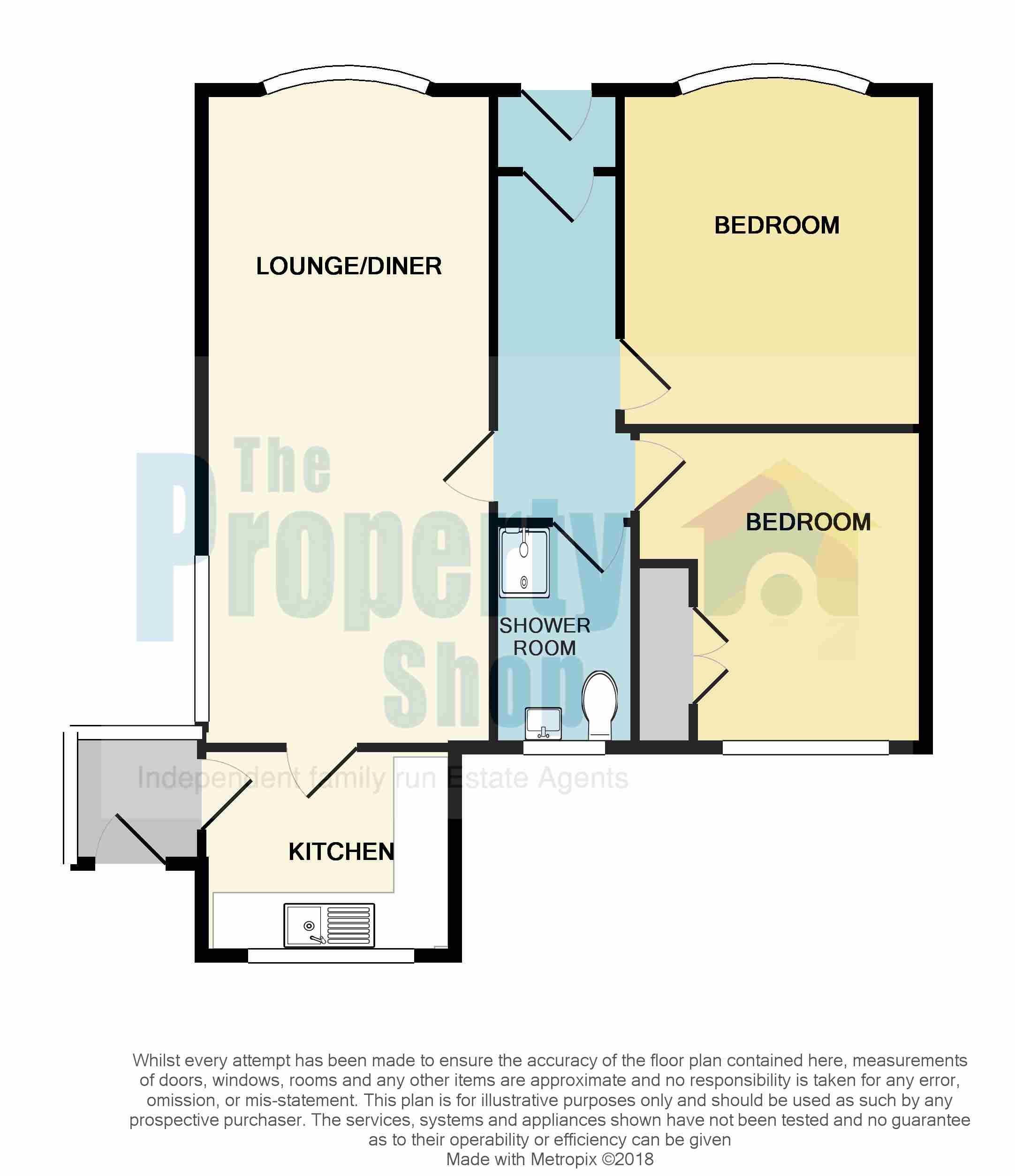 Christ Church Harbor Apartments: Siddons Road, Coseley, Bilston WV14, 2 Bedroom Detached